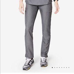 Figs Yola Scrub Pants in Graphite